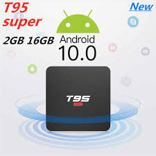New Android 10.0 TV BOX <b>T95 Super Allwinner H3</b> Quad Core ...