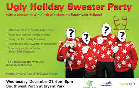 bryant park blog wear an ugly sweater for a chance to win airline bryant park blog wear an ugly sweater for a chance to win airline tickets