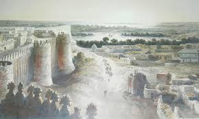 crumbling majesty the fascinating pakka qila com hyderabad fort sind 1844