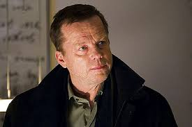 KURT WALLANDER spends a lot of time trudging along the beach near his house. The sea is cold and choppy; the sky is grey. No wonder he looks morose. - wallander