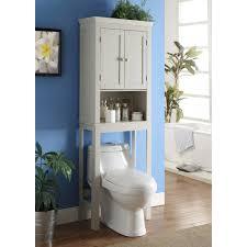 bathroom space savers bathtub storage: bathroom grogan bathroom space saver over the toilet cabinet two