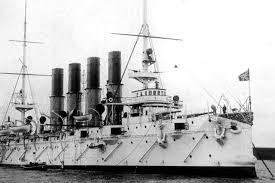"""120 лет назад на воду спустили легендарный крейсер """"<b>Варяг</b> ..."""