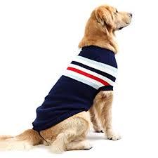 Fashion Striped <b>Dog Sweater</b> Vest Warm Coat <b>Soft</b> Knitting Wool ...