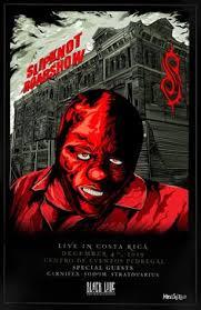 """<b>Slipknot</b> Roadshow Posters Oficiales Ilustrados"". Un proyecto de ..."