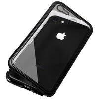 «Магнитный <b>чехол для iPhone 6</b> черный стеклянный ...
