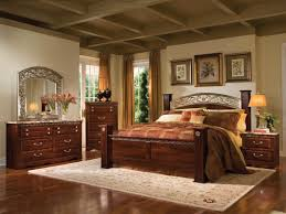 real wood bedroom furniture industry standard:  rustic dark wood bedroom furniture sets with antique table lamp and mirror best neutral wall painting color wooden roof elegant design ideas unique american cherry hardwood flooring