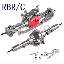 <b>RBR</b>/<b>C</b> 1:10 full metal front and rear axle, suitable for TRX4 CSX10 ...