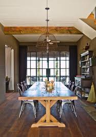 Farm Table Dining Room Set Trestle Table In A Farmhouse Style Dining Room Decoist Enclosure