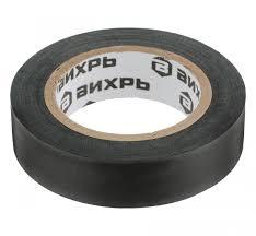 Изолента ВИХРЬ (15mm*10m*0,15mm) чёрный - купить в г ...