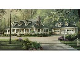 Shadyview Country Ranch Home Plan D    House Plans and MoreExhilarating Southern Plantation Home With Spacious Surrounding Porch