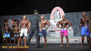 2019 OLYMPIA Men's Physique Prejudging & Posedown - YouTube