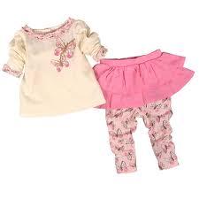 <b>Baby Girls Clothing</b> Set Cotton <b>Divided</b> Skirts Newborn Infant ...