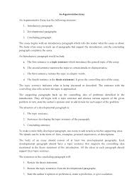 argumentative essay structure an argumentative essayan argumentative essay has the following structure  introductory paragraph