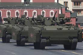 new car launches in early 2015Russian Military Combat Vehicle Kurganets25 With PlayStation