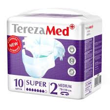<b>Подгузники</b> д/взр. <b>TerezaMed Super Medium</b> 70-130см N10 по ...