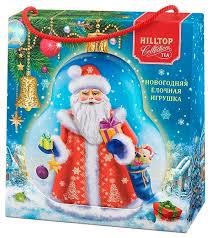 Чай черный Hilltop <b>елочная игрушка Дед Мороз</b> Цейлонское утро ...