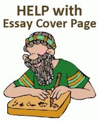 Essay Cover Page Writing Help - Cover Page Format, APA Cover Page ... Essay Cover Page Help