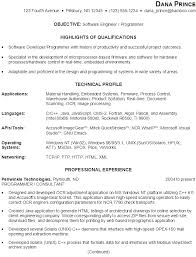 resume  software engineer   programmersample resume software engineer   programmer