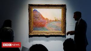 <b>Monet</b> Haystacks <b>painting</b> sells for record $110.7m - BBC News