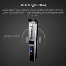 riwa x9 rechargeable hair clipper professional adjustable intelligent titanium ceramic haircut trimmer complete set machine