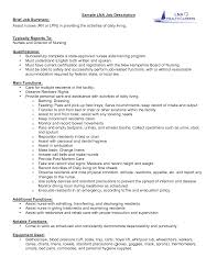 job description for lpn resume customer service resume example job description for lpn resume lpn resume skills sample phrases and statements nursing job description for