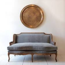 room french style furniture bensof modern: nickeykehoe french modern a vintage settee gets a handsome