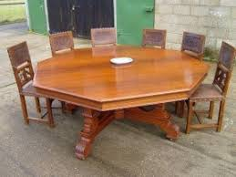 dining table that seats 10: large round dining table seats  foter