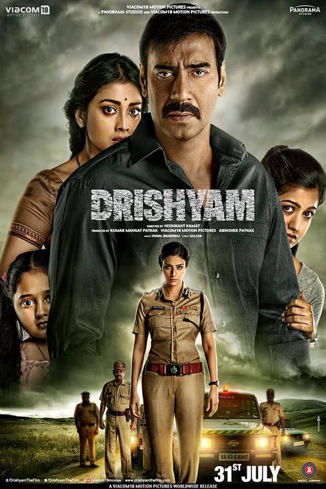 Download Drishyam (2015) Full Movie In Hindi Bluray 480p [450MB] | 720p [1.4GB] | 1080p [2.6GB]
