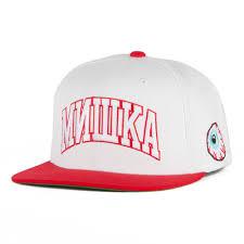 <b>Бейсболка МИШКА Cyrillic</b> Varsity Starter White купить в интернет ...
