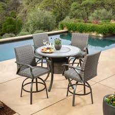 Indigo <b>5</b>-<b>piece</b> High <b>Dining Set</b>