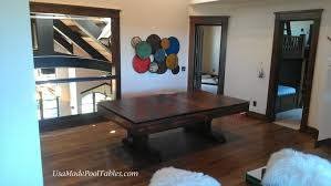 pool table dining tables:  rustic pool tables middot rustic dining table