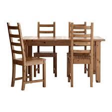 <b>СТУРНЭС</b> / КАУСТБИ Стол и 4 стула - морилка,антик 147 см ...