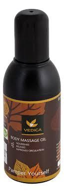 Купить легкое <b>массажное масло body massage</b> oil lite 100мл Veda ...