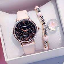 <b>Exquisite Simple Style Women</b> Starry Sky Watches Small Fashion ...