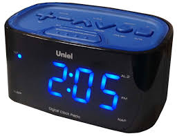 <b>Uniel UTR</b>-<b>33BBK часы</b>-будильник — купить в интернет-магазине ...