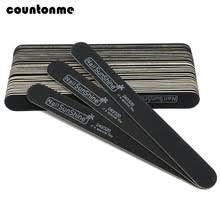 10 шт. <b>деревянная пилка</b> для ногтей, 240/320 черная прочная ...