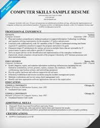 Resume sample basic computer skills Perfect Resume Example Resume And Cover Letter     Example Besides Student Resumes Samples Furthermore Pre Med Student  Resume With Awesome Completely Free Resume Also What To List In The Skills  Section