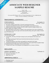 web design resume web designer resume sample resume for graphic web design resume example