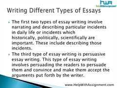 four types of essaysthe four types of essay   college essay   words the four types of essays