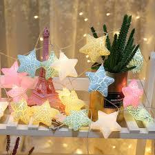 10/<b>20 LED</b> Fairy Star String Lights 1.5m <b>3m Led</b> Garland Lights ...