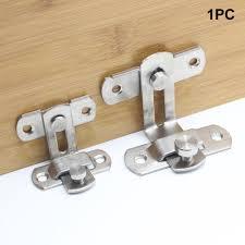 <b>1Pc Stainless</b> Steel Cabinet Door Bolt <b>Latch</b> Slide Catch Lock Gate ...