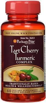 Puritan's Pride Tart Cherry Turmeric Complex-60 ... - Amazon.com