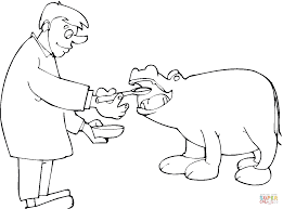 Small Picture Hippopotamus coloring pages Free Coloring Pages