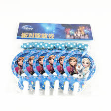 <b>6Pcs Disney Frozen</b> Funny Cartoon Blowout Whistles Child Birthday ...