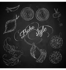 <b>Boho</b> Jewelry Vector Images (over 630)