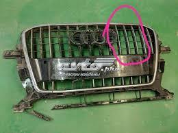 Защитная <b>решетка радиатора</b> на <b>Audi</b> Q5
