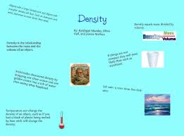 essay on aspects of density