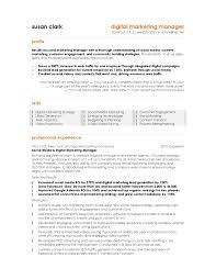 digital marketing manager resume com digital marketing manager resume to inspire you on how to make a great resume 8