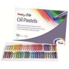 Купить Пастель <b>Pentel</b> масляная 50цв PHN4-50, 605041 ...