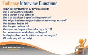 usa tourist visa interview questions 3 embassy interview questions